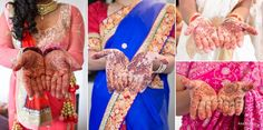 Bridal party henna details
