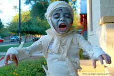 disfraz momia