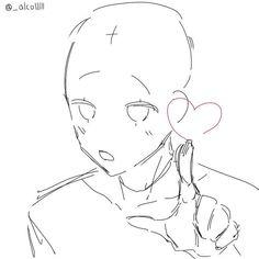 Drawing Base, Manga Drawing, Figure Drawing, Drawing Tips, Drawing Ideas, Manga Poses, Anime Poses Reference, Drawing Expressions, Poses References