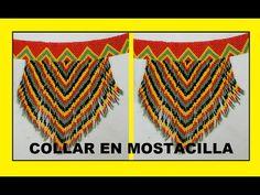 COMO HACER ARETES LARGOS EN MOSTACILLA - YouTube