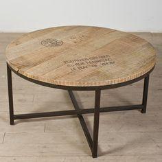CG Sparks Ayodhya Coffee Table - simple, rustic