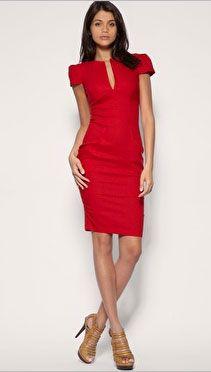 Dress of the Day: ASOS Tailored Deep V-Neck Linen Dress > Women's