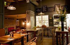 The Tokenhouse restaurant bar by Harrison London 03 Small Plates Restaurant, Small Restaurant Design, Bistro Restaurant, Cafe Bistro, Cafe Bar, Pub Bar, Restaurant Ideas, Design Websites, Design Studio