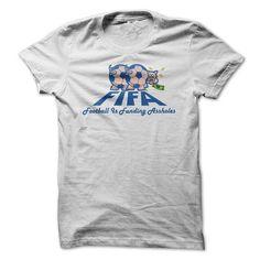 Football Is Funding Assholes T-Shirt Hoodie Sweatshirts aoa. Check price ==► http://graphictshirts.xyz/?p=61762