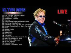 Elton John Greatest Hits Playlist - Best Songs Of Elton John 2017 - YouTube