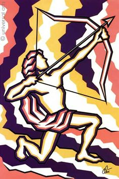 https://www.etsy.com/shop/universalarts?ref=l2-shopheader-name Jacqueline Ditt  Sagittarius original graphic by universalarts