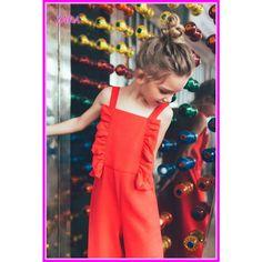 ZARA ワンピース・オールインワン ZARA KIDS 女の子★大人も着られるギフトにも赤いオールインワン