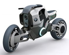 The BMW Wahnsinn ('insanity' in German) was a 2003 concept motorcycle designed by Jiro Arborgh.
