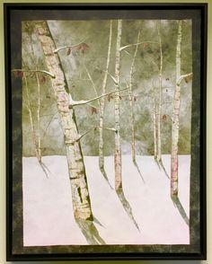 Moon Lit Birches by Nancy Zieman Landscape Giclee Art Print Landscape Art Quilts, Landscapes, Nancy Zieman, Winter Landscape, Canvas Prints, Art Prints, Design Projects, Giclee Print, Quilting