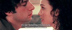 Garden State #movie #giff Garden State Quotes, Garden Quotes, Favorite Movie Quotes, When You Realize, Good Movies, Growing Up, It Hurts