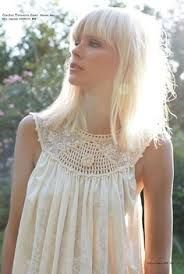 crochet yoke top - Google Search