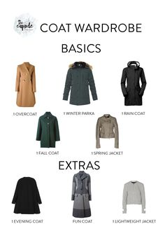 These coats will cover you in any weather!