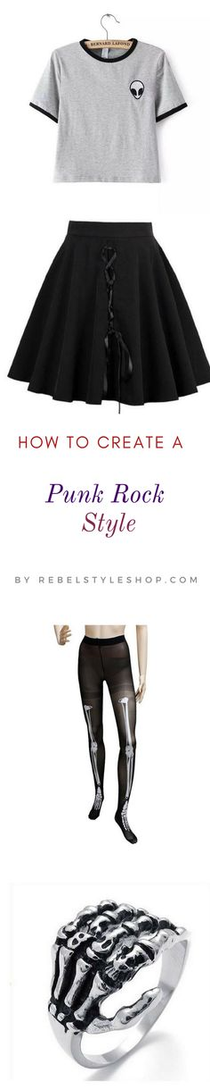 I know you love Punk rock so why don't you take it to your style? You're gonna love this idea  punk rock outfits punk clothing  punk rock clothing  rock clothing punk outfits  punk style  punk fashion