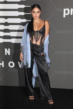 Vanessa Hudgens, Red Carpet, Pants, Dresses, Fashion, Trouser Pants, Vestidos, Moda, Fashion Styles