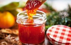 Sweet and spicy Chili Jam that is the perfect leftover sandwich jam. Absolutely ideal for that Black Friday Turkey sandwich. Chilli Recipes, Jam Recipes, Healthy Recipes, Healthy Food, Chilli Jam, Sour Taste, Spicy Chili, Turkey Sandwiches, Sweet And Spicy