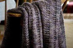 Ravelry: Garter Rib Baby Blanket pattern by Orange Flower.