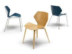 SHRIMP Stuhl By COR Sitzmöbel Helmut Lübke Design Jehs+Laub