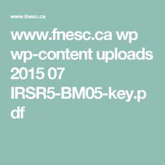 www.fnesc.ca wp wp-content uploads 2015 07 IRSR5-BM05-key.pdf Bog Garden, Rain Garden, Garden Plants, Content, Ads, Social Studies, Gardens, Style, Garden