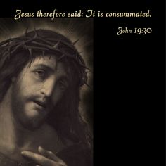It is consummated.  #daughtersofmarypress #daughtersofmary #lent