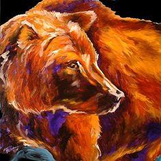 """Bear"" par Marcia Baldwin"