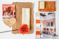 Binti Home Blog: 3d moodboard inspired by Passionate Argentina from Flexa, crispy red, warm interior, colour inspiration