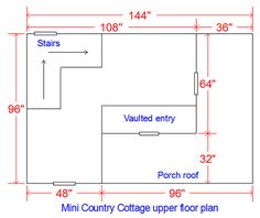 wood playhouse floorplan for kids