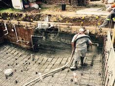 Natural Pools - Concrete Spray - Pool Progress - Swimming Pool - Pool Construction - Melbourne Pools