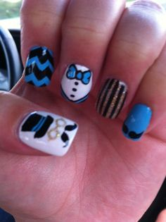 Baby Shower Nail Ideas Boy Designs Laboring In The Lord