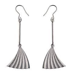 Plisé earrings / Plisé korvakorut: Kalevala Koru