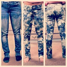bleach distressing techniques adsh-bleached-skinny-black-jeans-2 ...