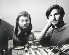 """Arab-looking man of Syrian descent found in garage building what looks like a bomb.  Apple founder Steve Jobs, seen here in classic """"garage"""" photos with Steve Wozniak, was the son of a Syrian migrant to the United States."""