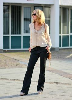 Hose und Bluse von EXPRESSO