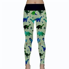 fa56bd2f005ff3 Dynamitos Dinos Yoga Leggings. Love cute prints but hate the fight over  them? Hate