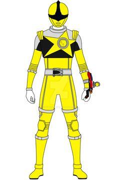 Here's from the upcoming Uchu Sentai Kyuranger, Kajiki Yellow. Update: Updated with better symbol. Template by Kajiki Yellow Power Rangers Ninja Steel, Pawer Rangers, Iron Man, Pokemon, Deviantart, Superhero, Yellow, Dvd Set, Fictional Characters
