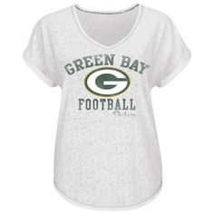 Green Bay Packers New Era Women's Hang Time Glitter Slub Scoop ...