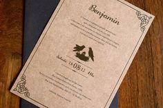 Convite Benjamin - Batismo