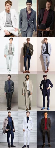 blazer & polo shirt looks for men , how to dress up a polo shirt