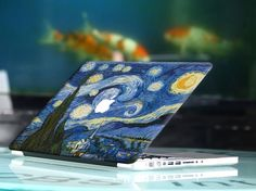 Colorful Wind Painting MacBook Air Skin Full Front Mac Stickers Decals for Mac Pro Air 15 Mac Stickers, Macbook Stickers, Macbook Decal, Laptop Decal, Macbook Air 11, Macbook Pro 15, Mac Pro, Decals, Fun