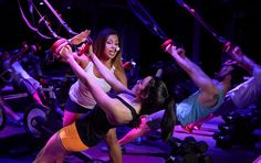 SweatBox, a new boutique fitness studio in Washington, D.C. I tried it to see how tracking my heart rate and power affected my workout.