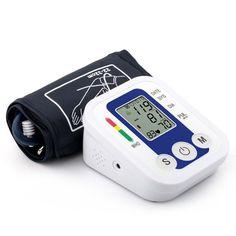 Portable Bras Blood Pressure Pulse Moniteur Numérique de La Pression Artérielle Supérieure Mètres Tensiomètre Moniteurs de soins de Santé L9