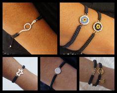 macrame bracelets from charmbyia.etsy.com