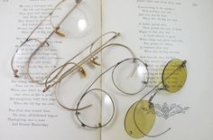 Eye Glasses Frames 12 Kt Gold Filled