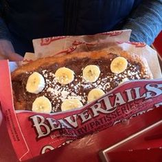 Beaver Tails - deep fried dough dessert - have to try