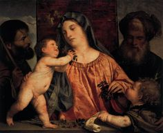 titian | Madonna of the Cherries