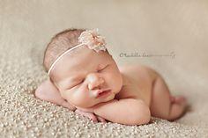 Baby headband flower headband girl headband infant by IzzysAttic