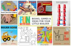Fun with Kids: Books and Activities for Your Little Builder // One Lovely Life