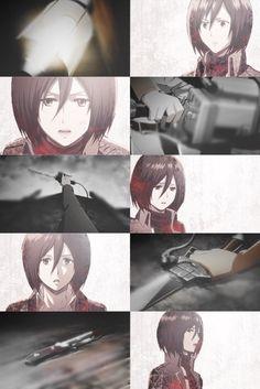 Shingeki no Kyojin {Attack on Titan} - Mikasa Ackerman