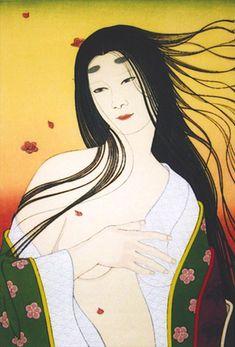 Aoinoue Gensou, from the Tale of Genji by Shusui Taki