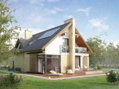 Amber (160,1 m2) to nowoczesny dom z użytkowym poddaszem, charakteryzujący się dużą ilością przeszklonych powierzchni. pełna prezentacja projektu znajduje się na stronie: http://www.domywstylu.pl/projekt-domu-amber.php. #amber #wnętrza #interior #insides #projekty #domy #projekt #domywstylu #mtmstyl #projektygotowe #domynowoczesne #projektydomow