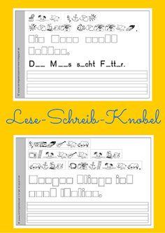 Sonniges Klassenzimmer: Lese-Schreib-Knobel